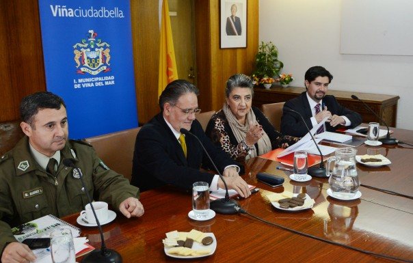 Alcaldesa Virginia Reginato, comision seguridad vial 1
