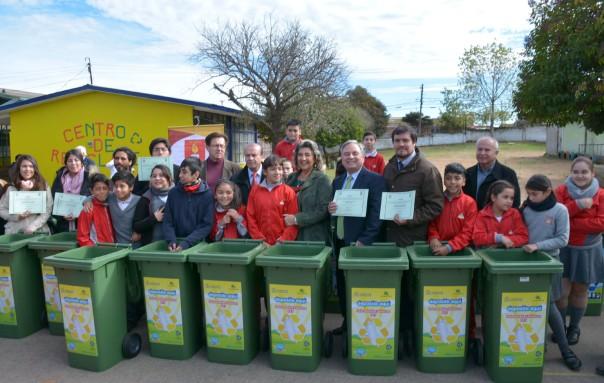 Alcaldesa Virginia Reginato, contenedores reciclaje 4