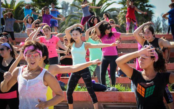 Municipalidad de Viña del Mar, fitness zumba